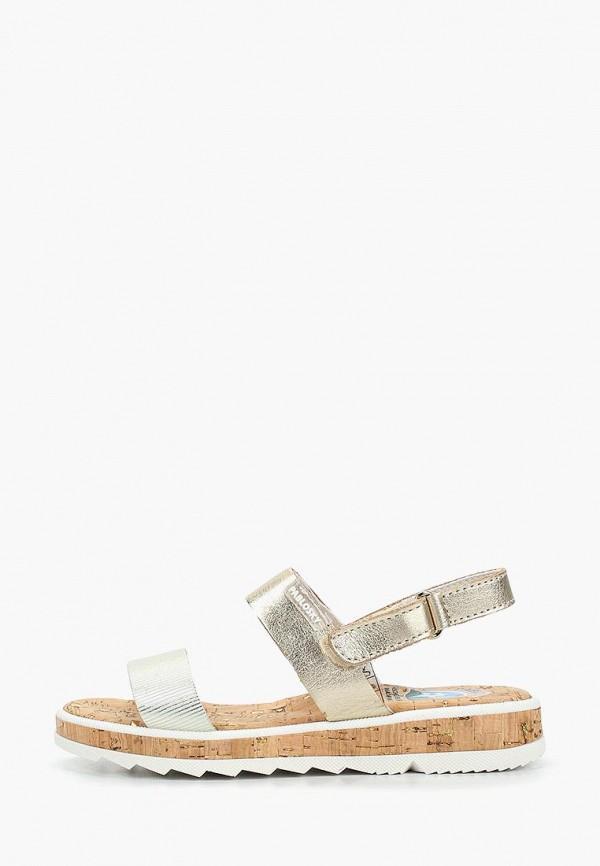сандалии pablosky для девочки, золотые