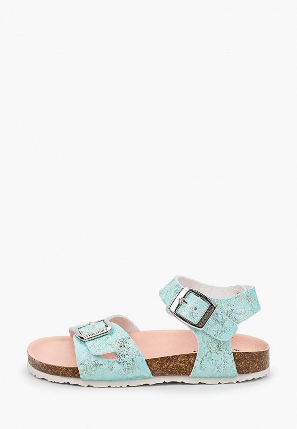 сандалии pablosky для девочки, бирюзовые