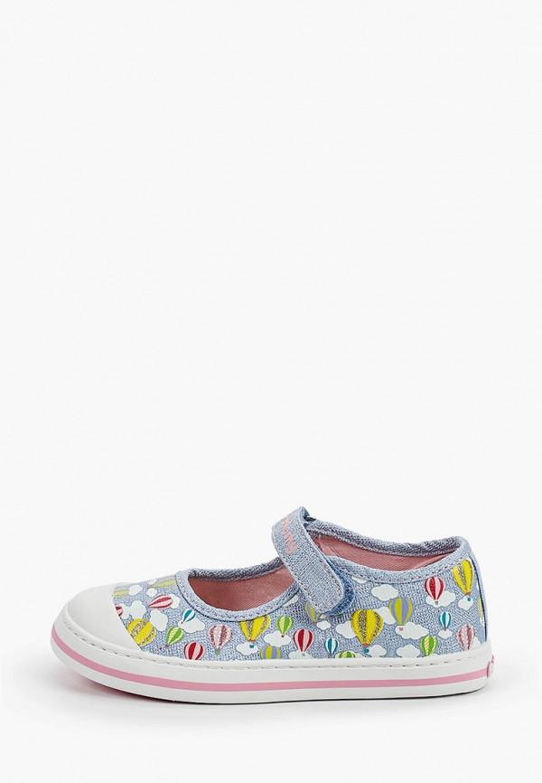 туфли pablosky для девочки, голубые