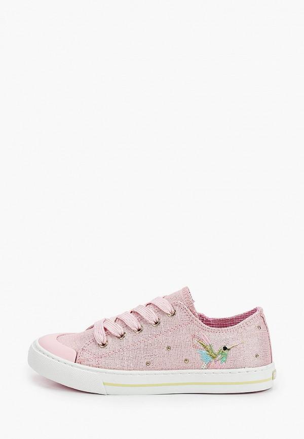 кеды pablosky для девочки, розовые