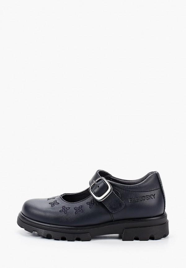 туфли pablosky для девочки, синие