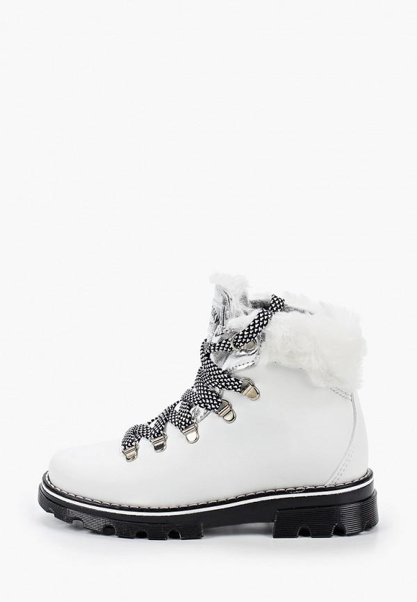 ботинки pablosky для девочки, белые
