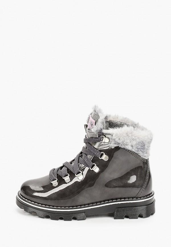 ботинки pablosky для девочки, серебряные