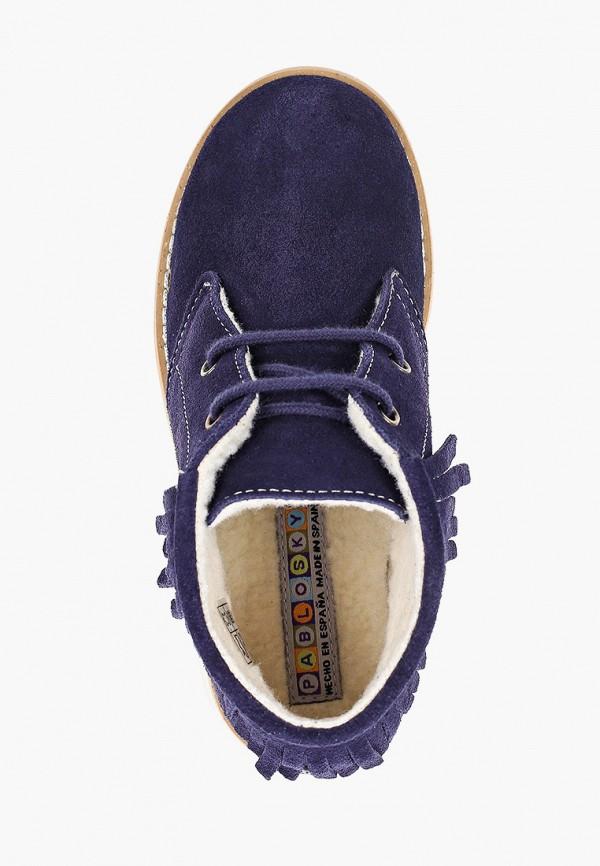 Ботинки для девочки Pablosky 492426 Фото 4