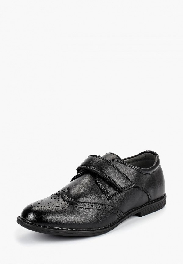 туфли patrol для мальчика, черные
