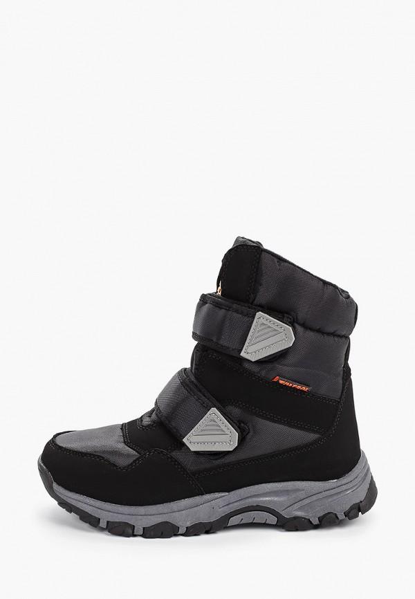 Фото - мужские ботинки и полуботинки Patrol черного цвета