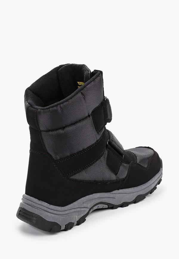 Фото 3 - мужские ботинки и полуботинки Patrol черного цвета