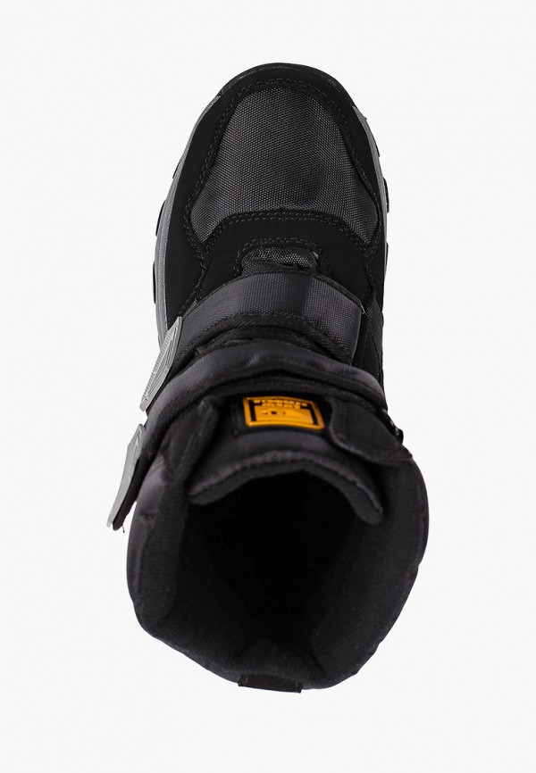 Фото 4 - мужские ботинки и полуботинки Patrol черного цвета