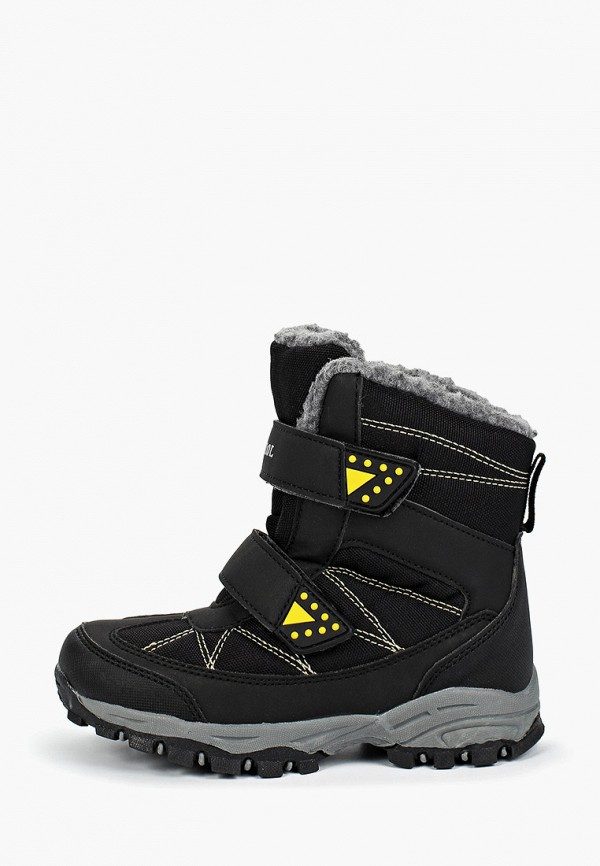 ботинки patrol для мальчика, черные