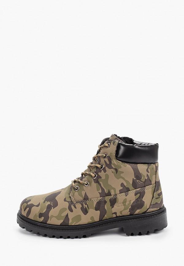 мужские ботинки patrol, бежевые