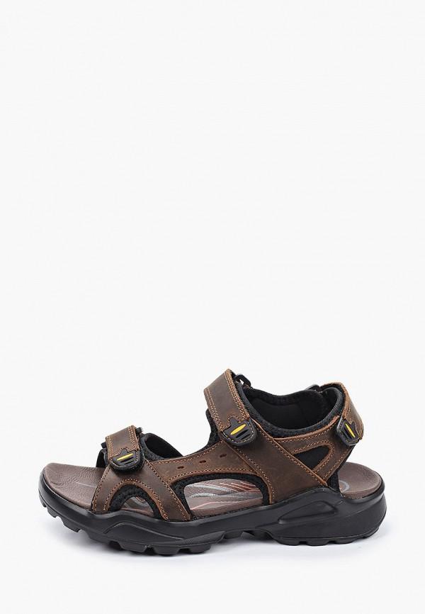 сандалии patrol для мальчика, коричневые