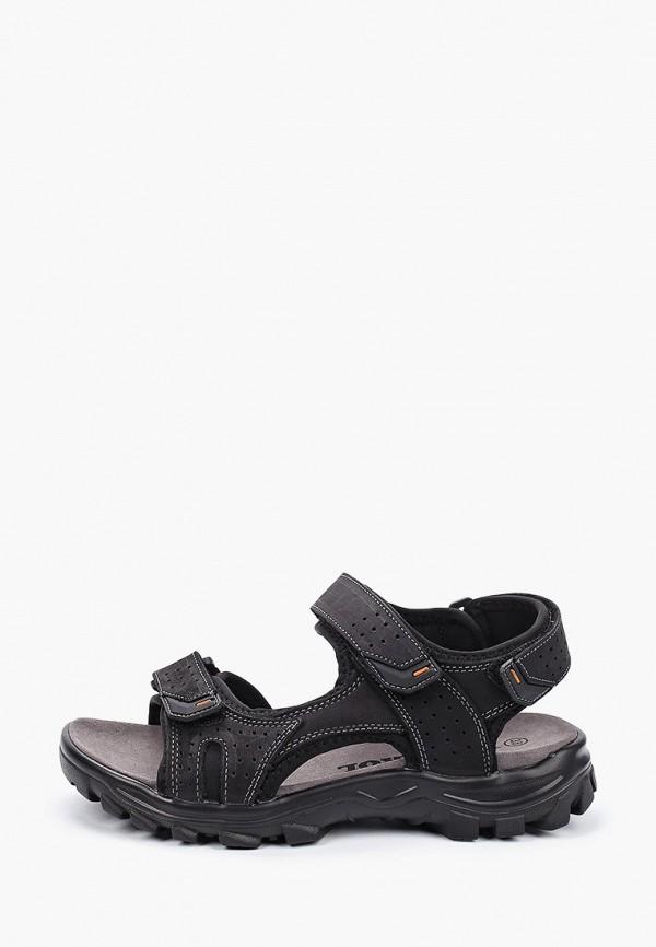 мужские сандалии patrol, черные