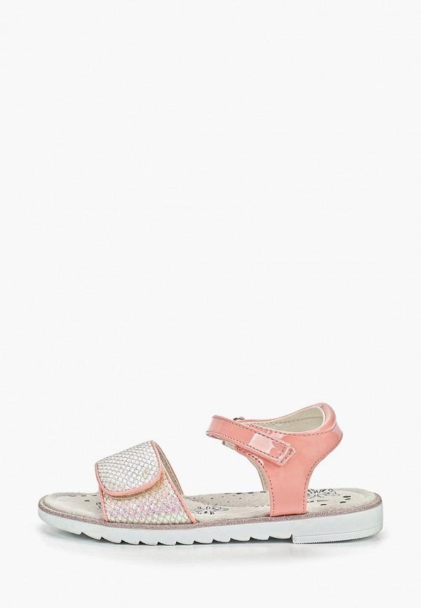 сандалии patrol для девочки, розовые