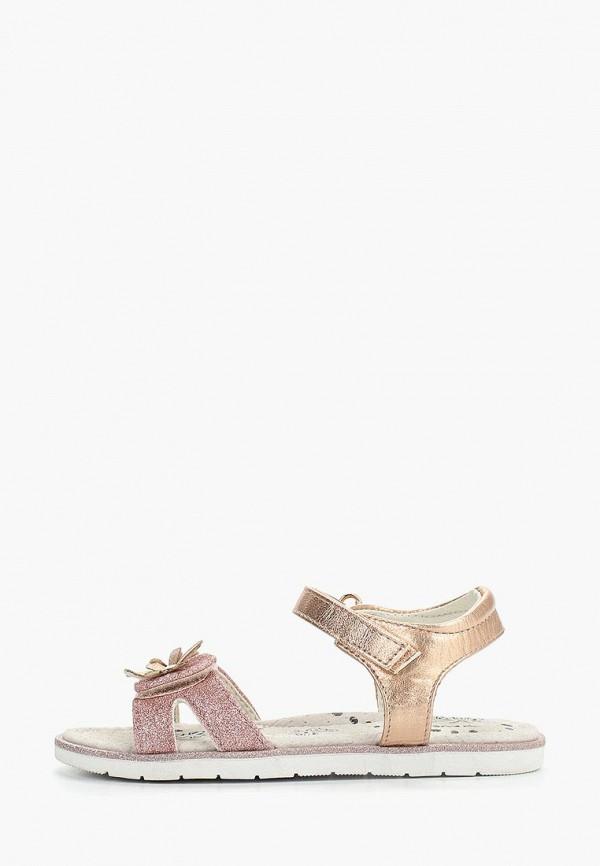 сандалии patrol для девочки, золотые