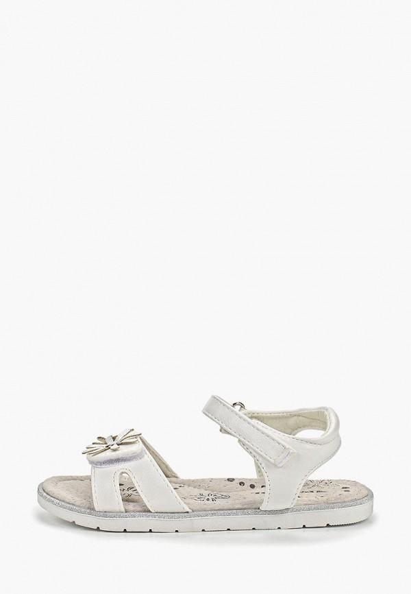 сандалии patrol для девочки, белые