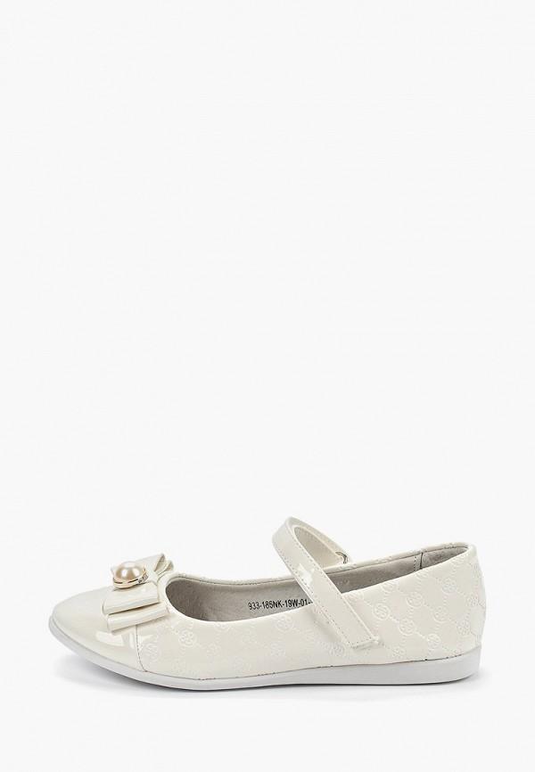туфли patrol для девочки, белые