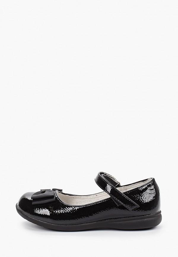 туфли patrol для девочки, черные