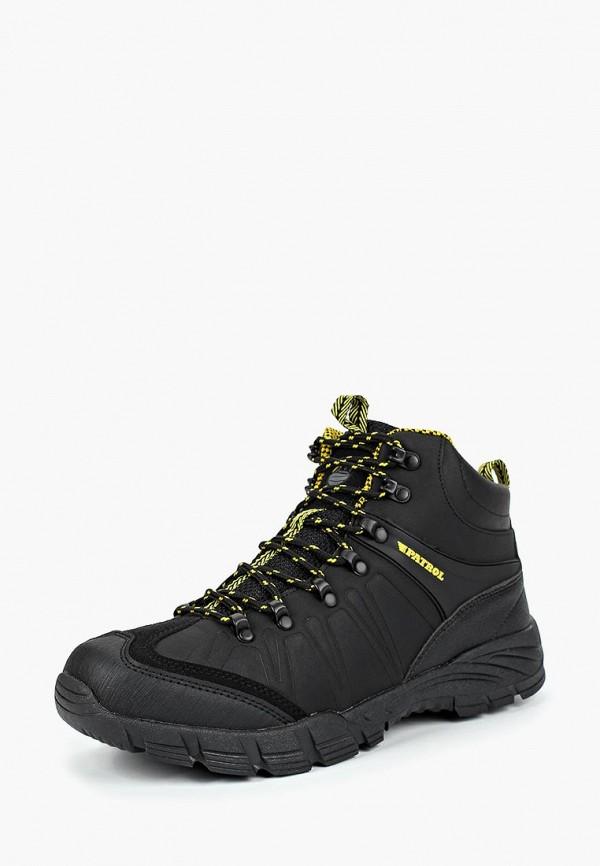Купить Ботинки трекинговые Patrol, pa050amcnbk5, черный, Осень-зима 2018/2019