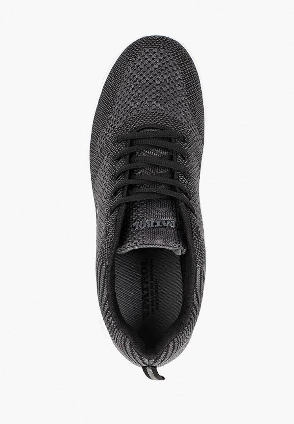 Фото 4 - мужские кроссовки Patrol серого цвета