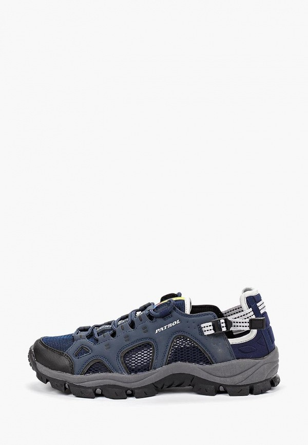 Фото - мужские кроссовки Patrol синего цвета