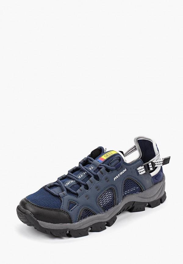 Фото 2 - мужские кроссовки Patrol синего цвета