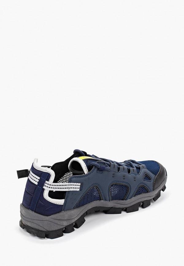 Фото 3 - мужские кроссовки Patrol синего цвета
