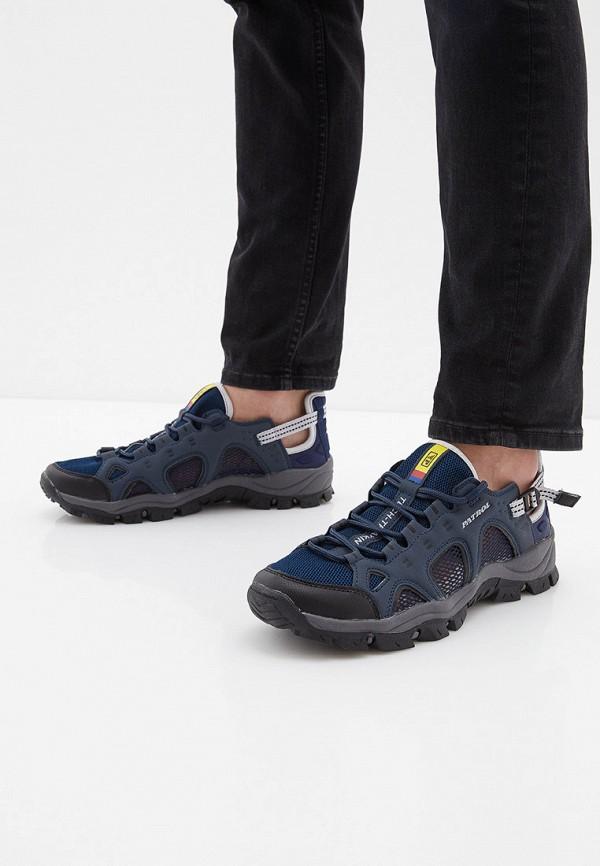 Фото 6 - мужские кроссовки Patrol синего цвета