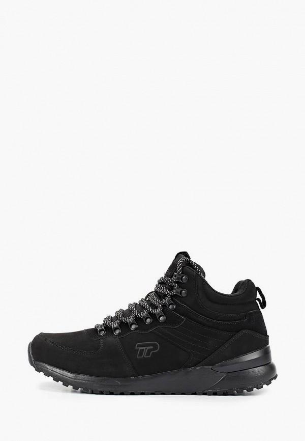 мужские низкие ботинки patrol, черные