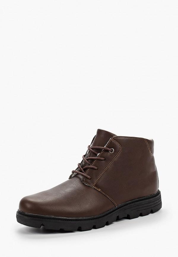 Фото 2 - мужские ботинки и полуботинки Patrol коричневого цвета