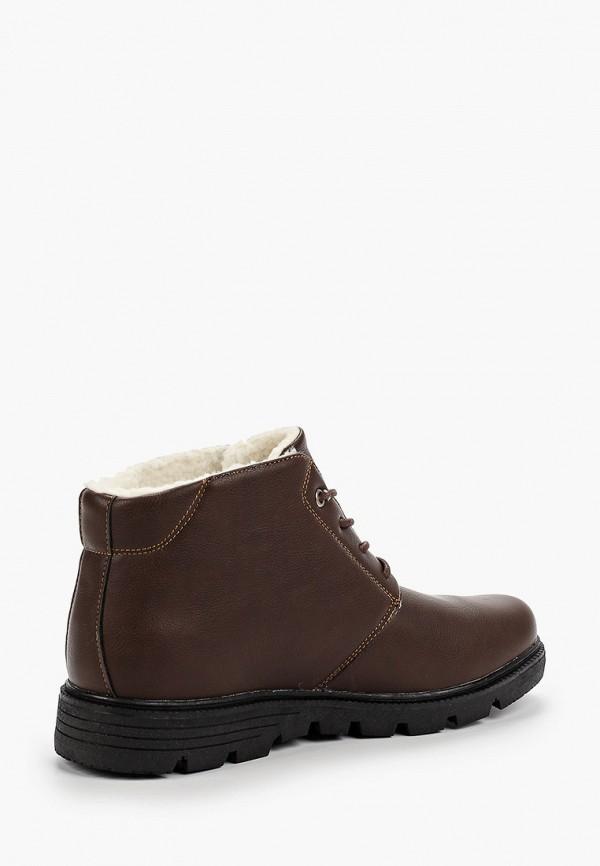 Фото 3 - мужские ботинки и полуботинки Patrol коричневого цвета