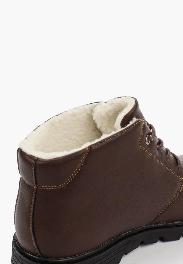 Фото 6 - мужские ботинки и полуботинки Patrol коричневого цвета