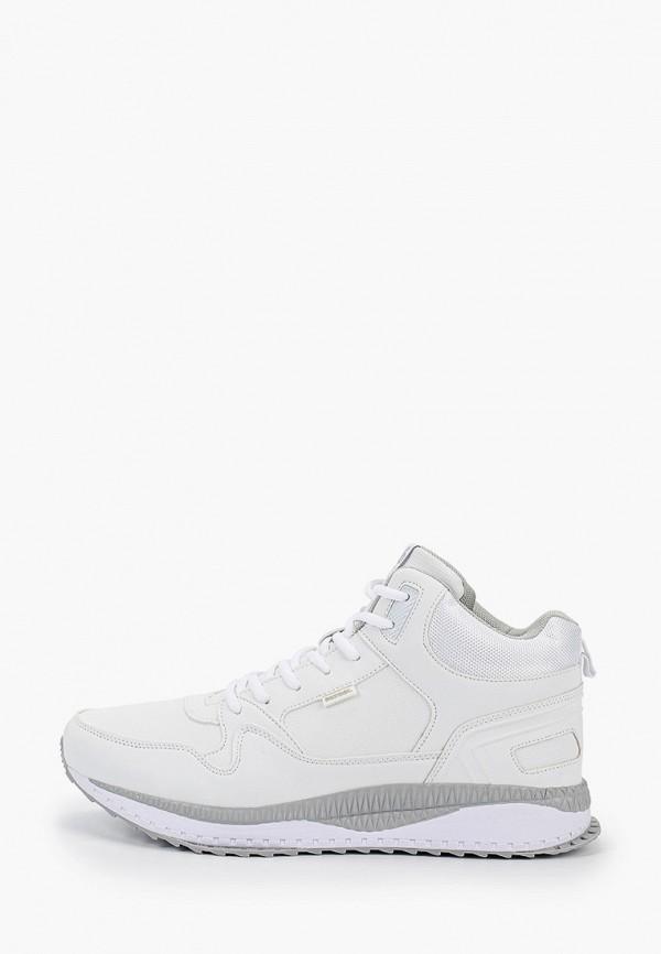 мужские высокие кроссовки patrol, белые