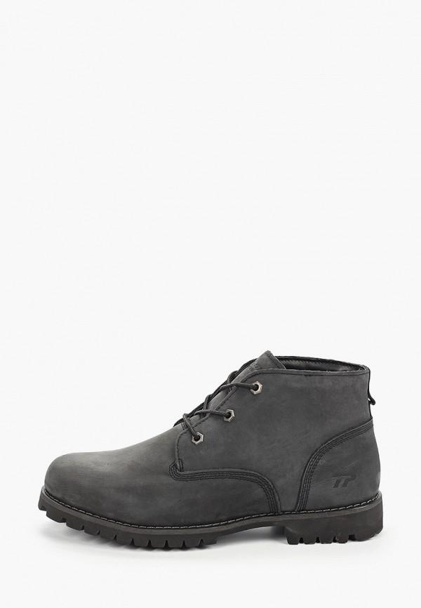 мужские высокие ботинки patrol, серые