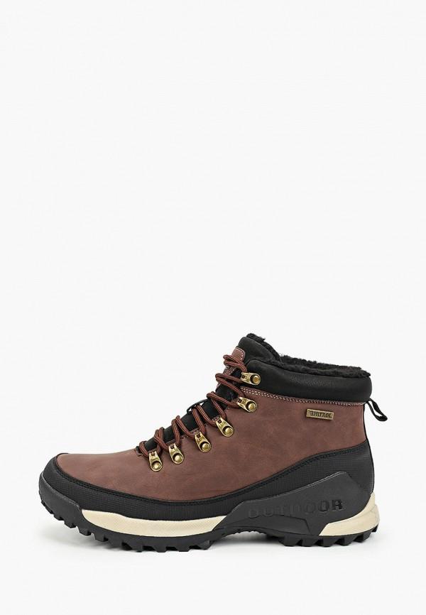 Фото - мужские ботинки и полуботинки Patrol коричневого цвета