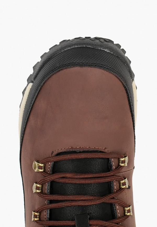 Фото 4 - мужские ботинки и полуботинки Patrol коричневого цвета