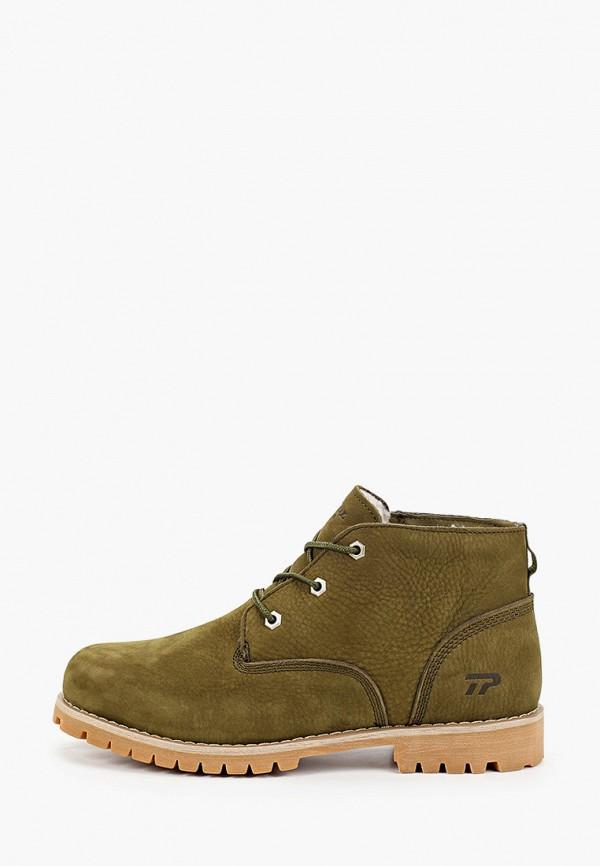 мужские ботинки patrol, хаки