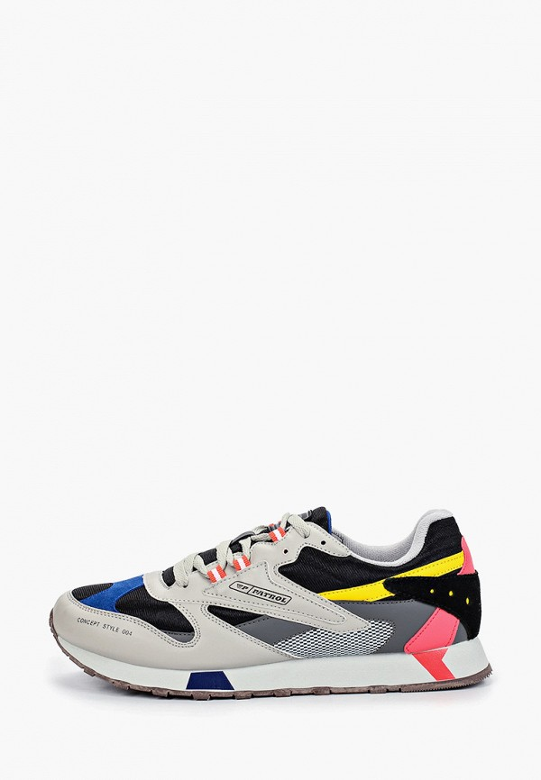 мужские низкие кроссовки patrol, разноцветные