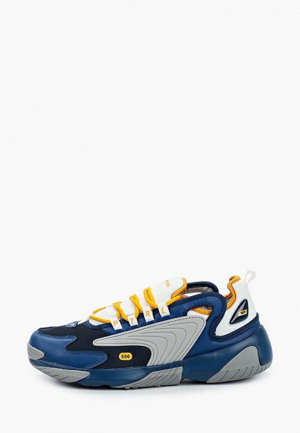 мужские низкие кроссовки patrol, синие
