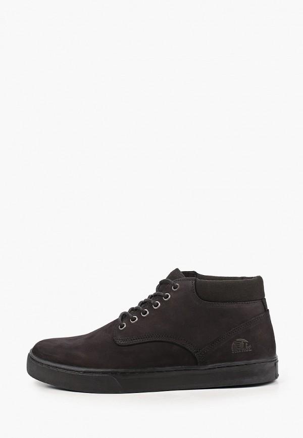 мужские ботинки patrol, черные