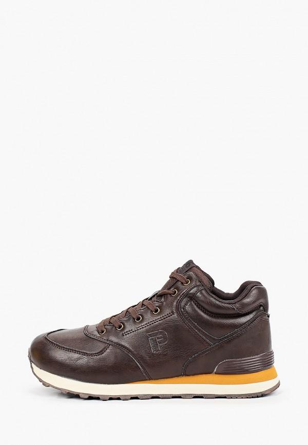мужские кроссовки patrol, коричневые