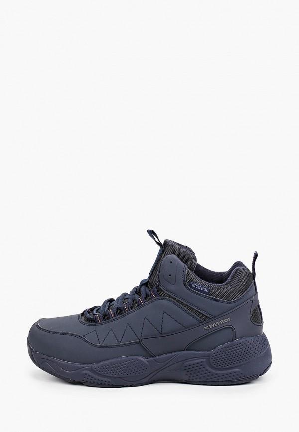 мужские ботинки patrol, синие