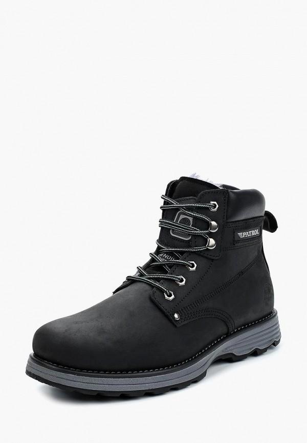 мужские высокие ботинки patrol, черные