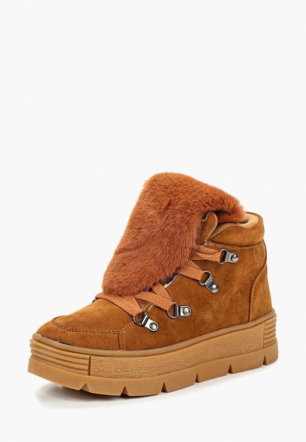 женские ботинки patrol, коричневые