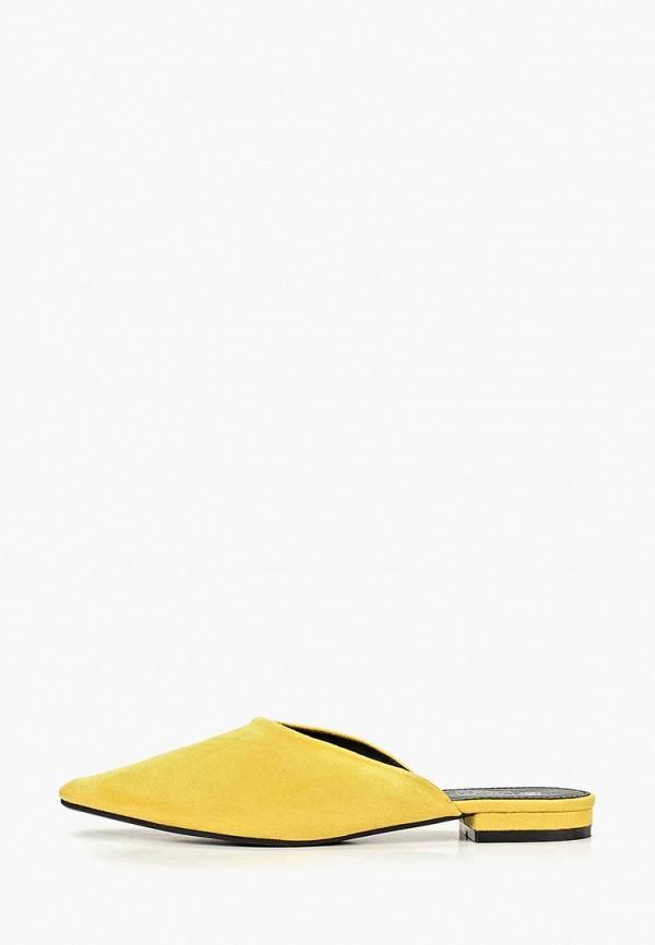 женское сабо patrol, желтое