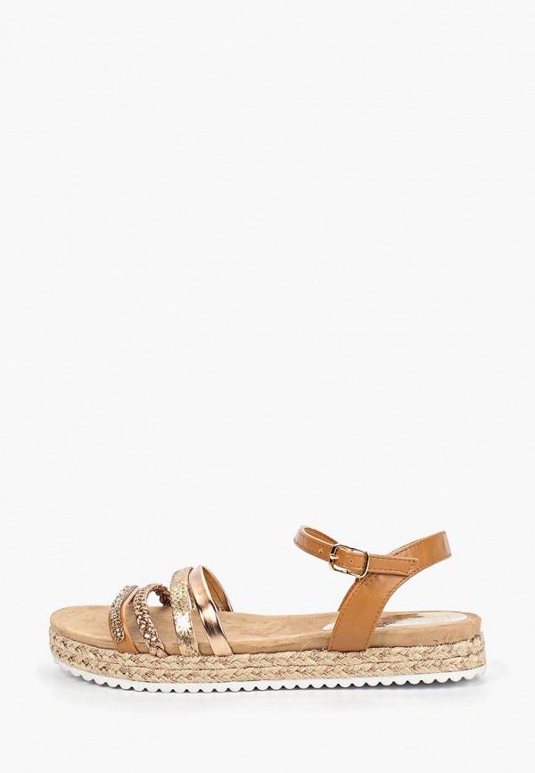 женские сандалии patrol, золотые
