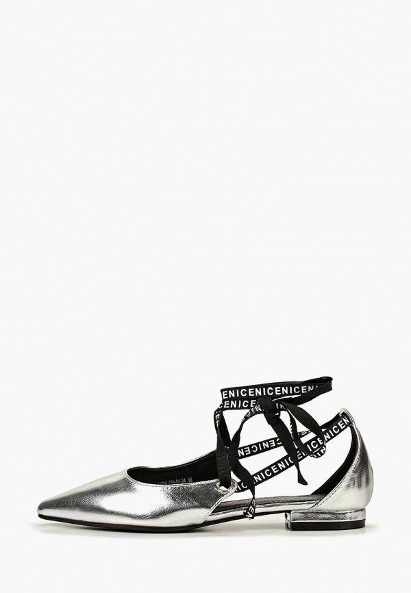 женские туфли patrol, серебряные