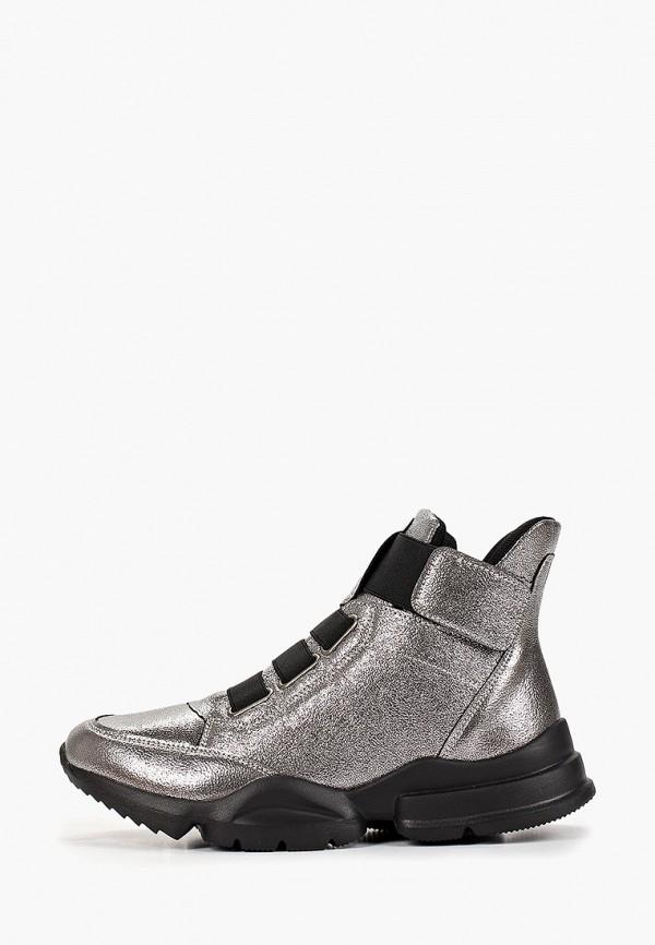 женские кроссовки patrol, серебряные