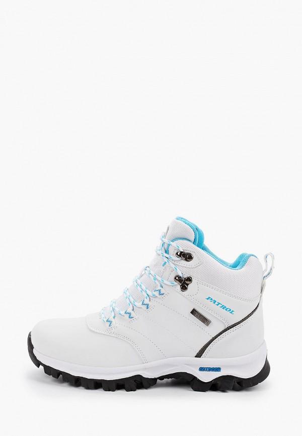 женские ботинки patrol, белые