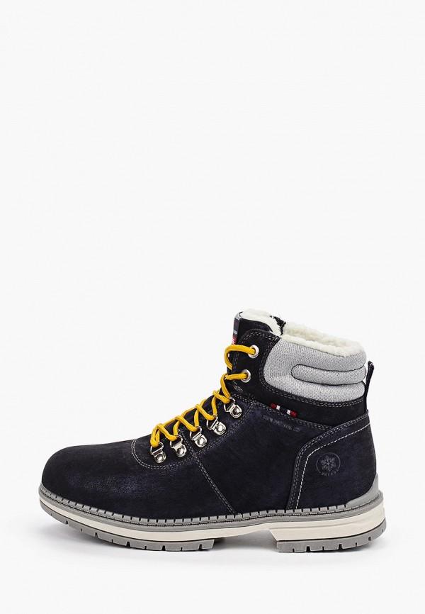 женские ботинки patrol, синие