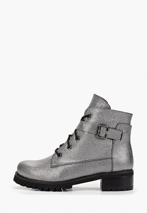 женские ботинки patrol, серебряные
